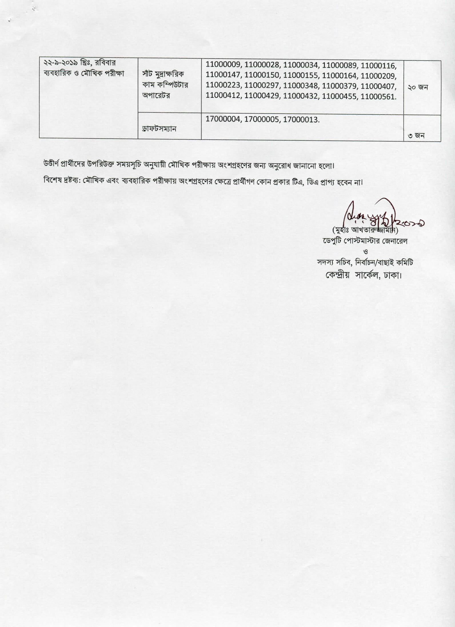 PMGCC Exam Result and Viva Practical Date 2019 – Tottho Pedia